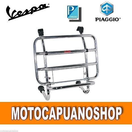 91a45a5b33 PORTAPACCHI ANTERIORE CROMATO VESPA 125 150 200 PX - ARCOBALENO - DISCO