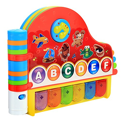 Arshiner Baby Kids Musical Rhymes Book With Light Educational Learning Toy  Us Stock