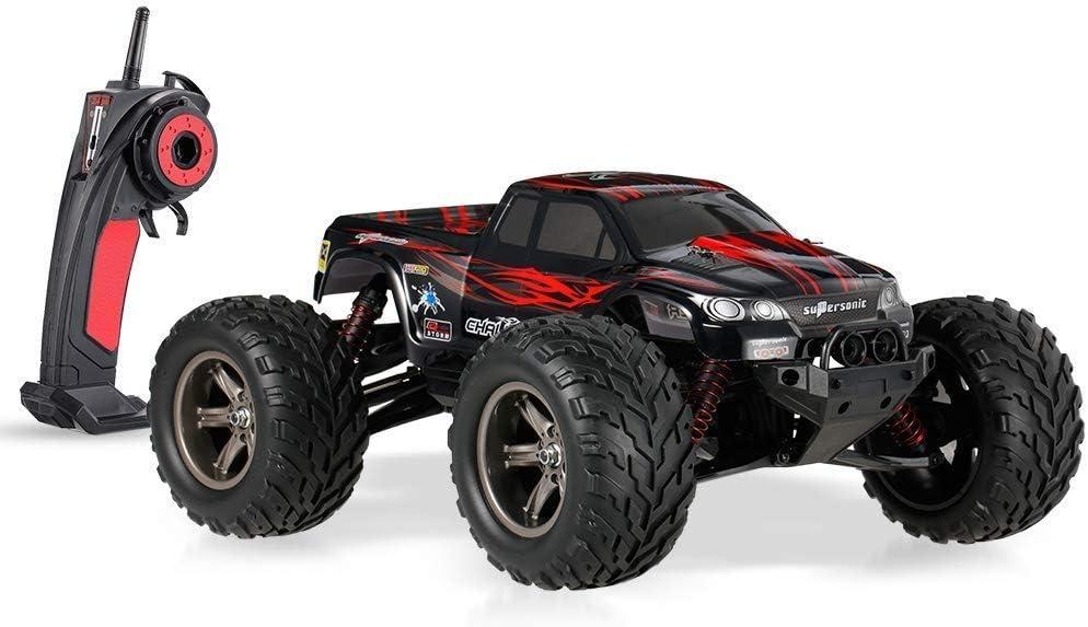40 kmh ultra alta velocidad deportes al aire libre del coche 1/12 2WD altos caballos de fuerza fuera de la carretera coche teledirigido 2.4GHz 80m Distancia de control remoto de todo terreno Profesión