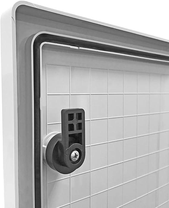 40 x 60 x 20 400 x 600 x 200 Koop Armadio elettrico industriale con piastra di montaggio zincata IP65 porta con guarnizione circolare alloggiamento vuoto in plastica ABS alloggiamento a parete