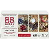 88 Acres Variety Pack Granola Bar, School Safe, 1.6 oz (12 Bars)
