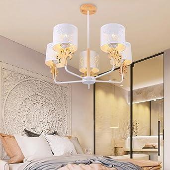 ZHANGRONG Kronleuchter  Nordic Massivholz Kronleuchter Für Wohnzimmer  Esstisch Restaurant Mode Bekleidungsgeschäft  Innen Kronleuchter