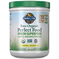 Garden of Life Raw Organic Perfect Food Green Superfood Juiced Greens Powder, Plant...