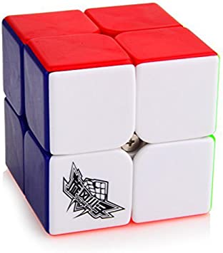 Cyclone Boys Speed Cube 2x2x2 Stickerless Magic Cube Puzzles Colorful 50mm