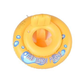 Flotador natación para Bebe o Niño,GZQES,Flotador Asiento de Piscina para bebés niños 1-2 años edad: Amazon.es: Juguetes y juegos