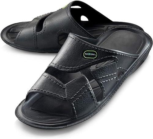 New Men/'s Sport Slide Sandals Flip Flops Shoes Indoor Outdoor Beach Pool sz 7-13