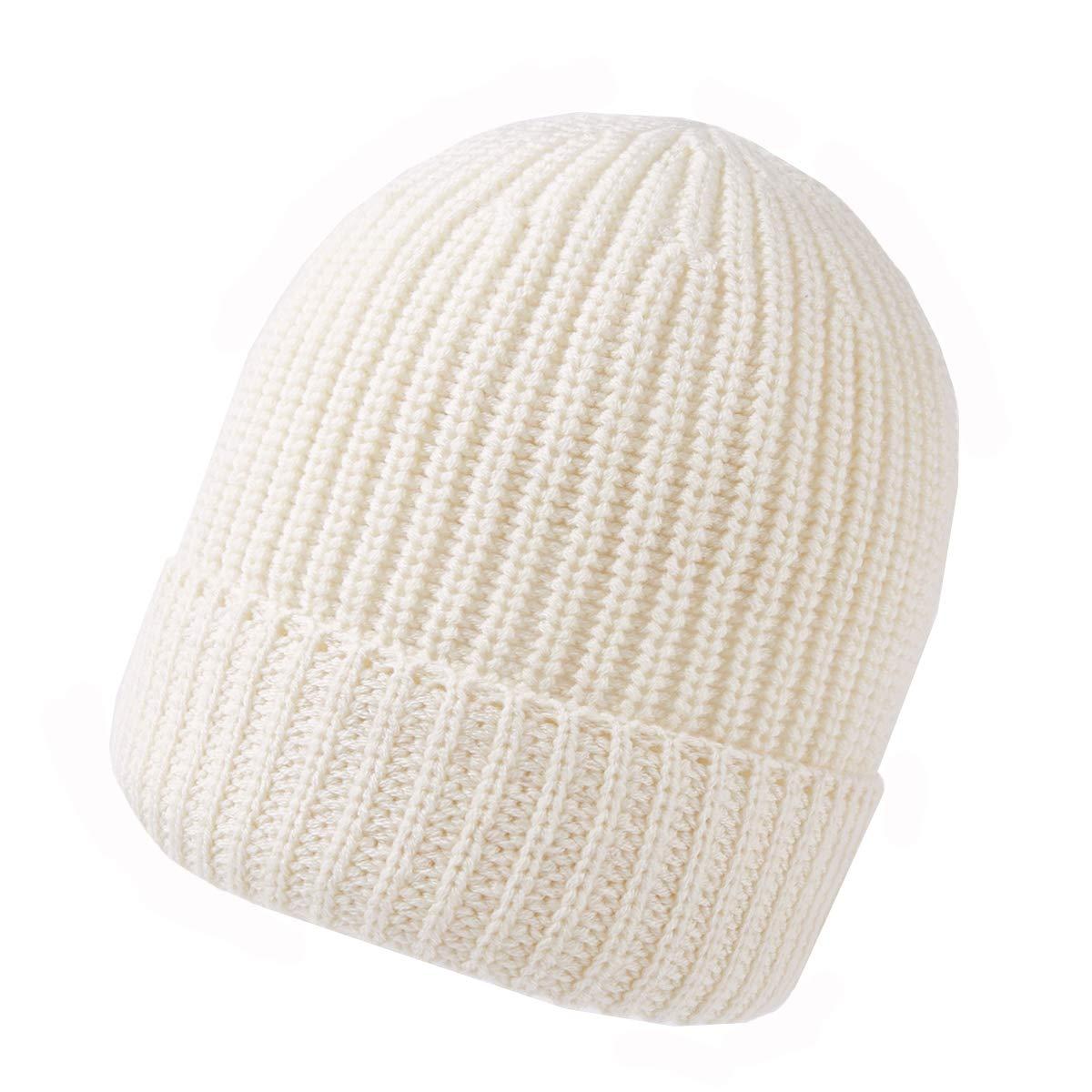 160d827c80736 Bonnets RIONA 30% Laine Bonnet Hiver Chapeau tricoté Homme Beanie Hats  Hiver Chapeau Wool Beanie pour ...