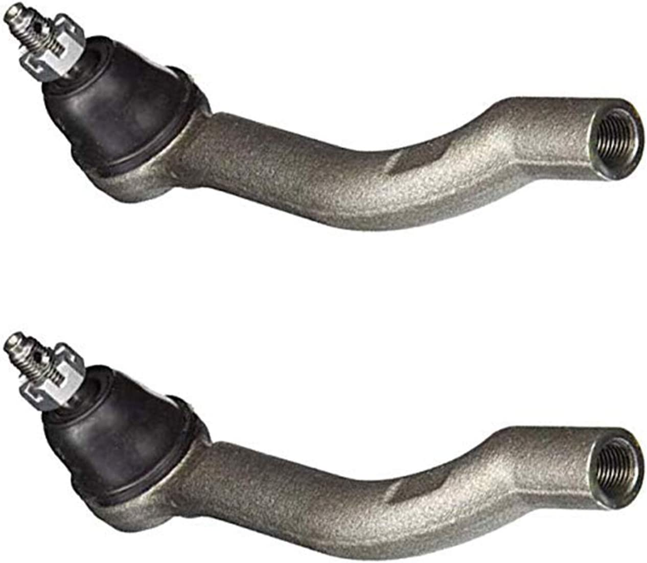 Detroit Axle Pair Front Outer Tie Rod Ends Driver and Passenger Side For 2008 2009 2010 2011 2012 2013 Nissan Rogue