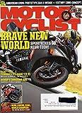 Motorcyclist Magazine April 2009 SPORTBIKES GO HIGH-TECH Yamaha's Big-Bang YZF-R1 Moto GP Technology For The Street HONDA'S CBR600RR-ABS American Iron: Prototype S7S X-Wedge HERO, LEGEND