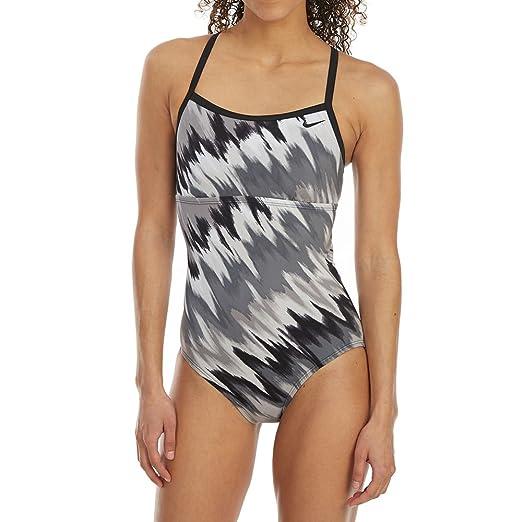 69d37ac6d2604 NIKE Women'S IMMISCIBLE Print Racerback Sport ONE-Piece Swimsuit at ...
