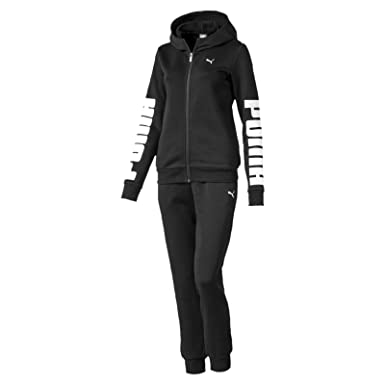 Puma Damen Rebel Sweat Suit Trainingsanzug: