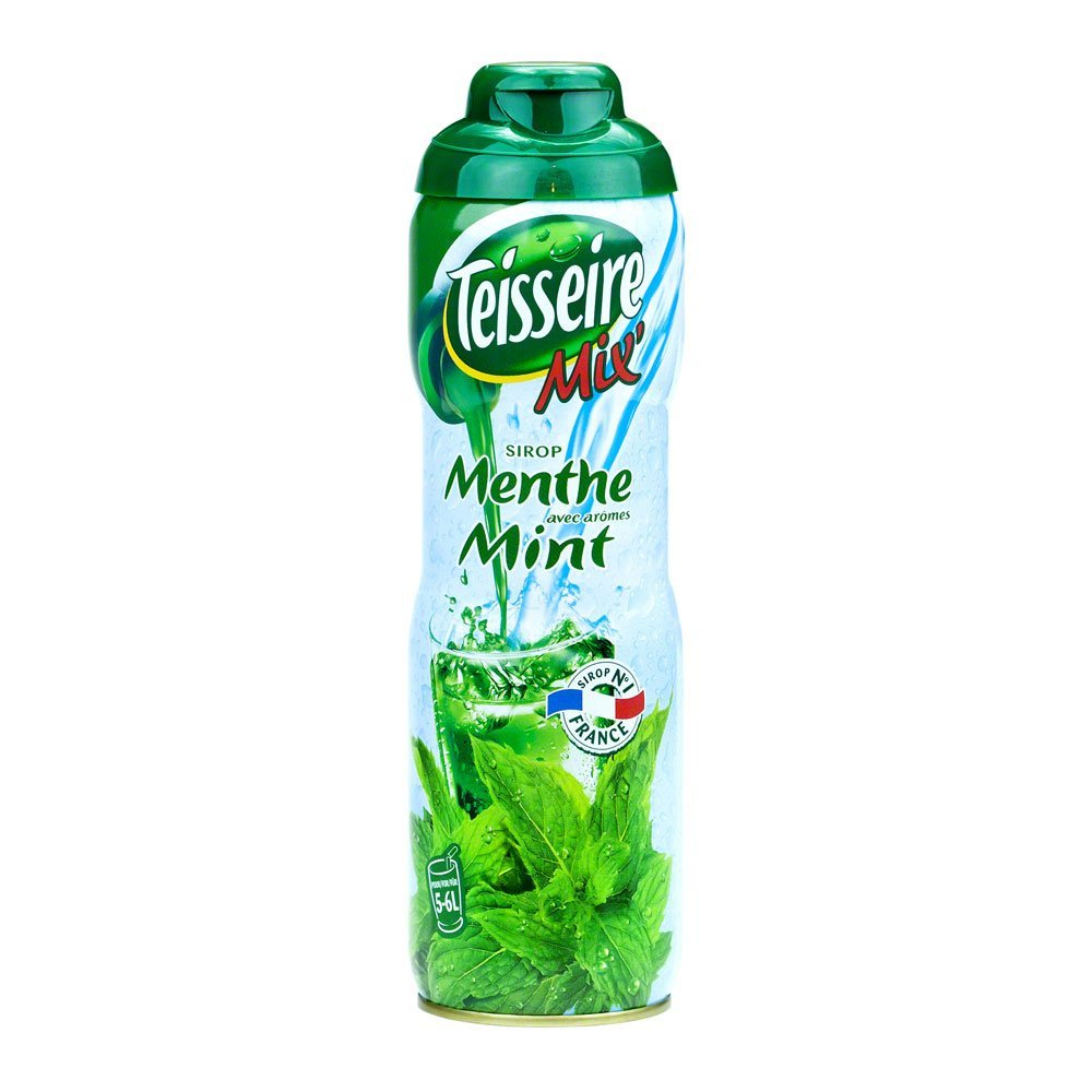 French Mint Teisseire Concentrated Syrup