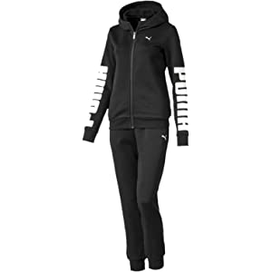 Puma Womenss Clean Tricot Suit Op Tracksuit
