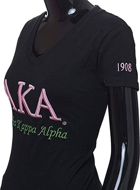 Amazon.com: Alpha Kappa Alpha - Camiseta para mujer con ...