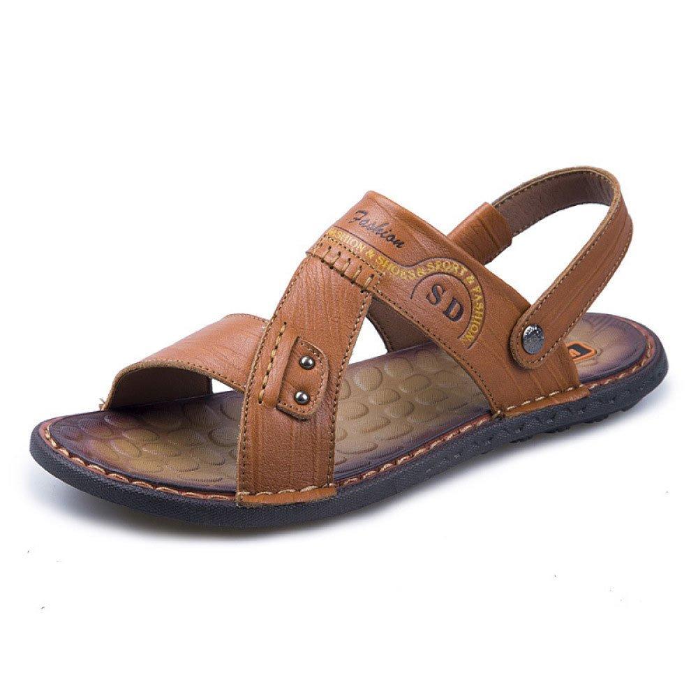 Sandalias De Verano Comfort Casual Beach Shoes Joker Zapatillas Respirables 43 EU|Yellow