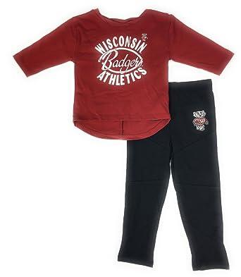 e877b7587a Amazon.com  Gen 2 Baby Girl s Wisconsin Badgers Football Sweethears ...