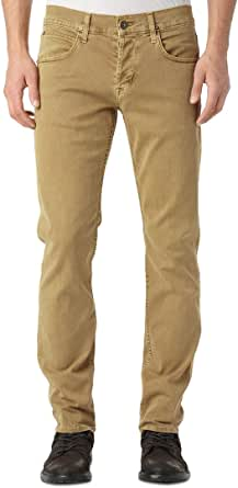 Hudson Jeans Men's Byron 5 Pocket Straight Leg Twill Pant
