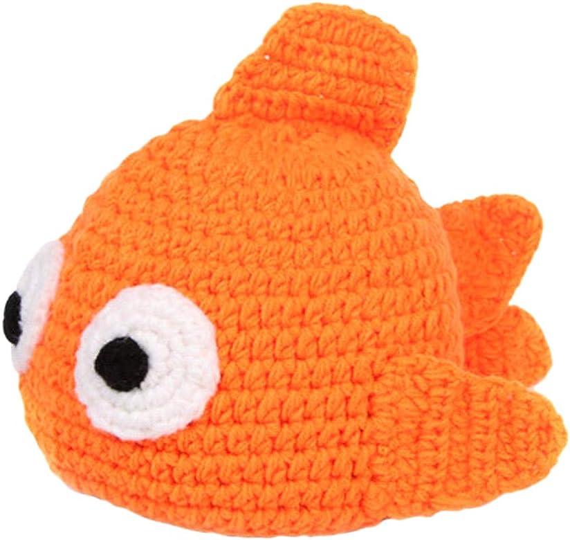 DELEY Unisex Bebé de Dibujos Animados de Peces de Colores Crochet ...