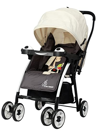 e75a87224e2 Buy R for Rabbit Poppins (an Ideal Pram) Baby Stroller for Baby Kids and  Moms (Cream Brown) Online at Low Prices in India - Amazon.in