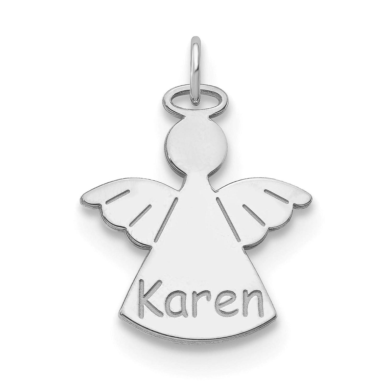Personalized KAREN Rhinestone Name Pin