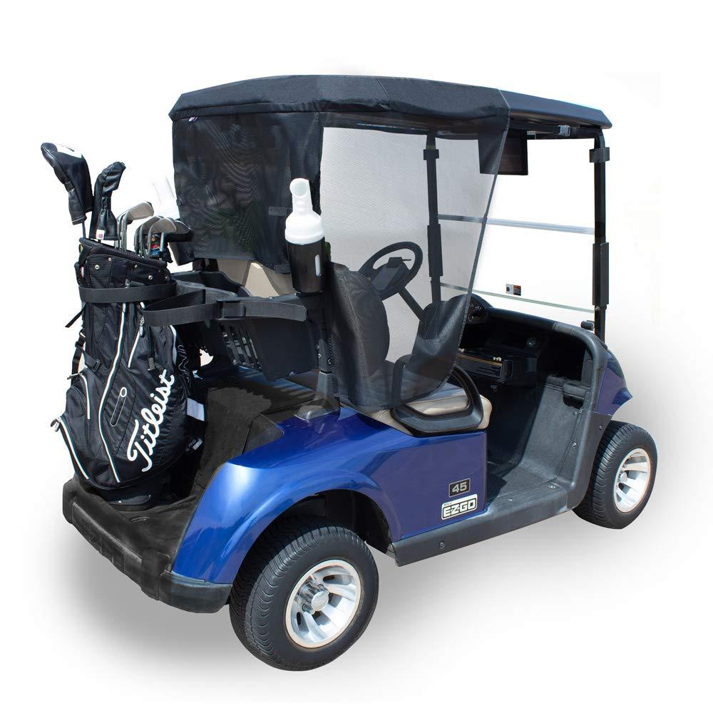 Greenline 2 Passenger Golf Cart Sun Shade by Eevelle – Yamaha, Club Car, EZGO – Made in USA