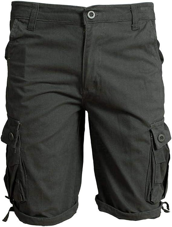 TALLA M. Allthemen - Pantalones cortos de verano para hombre