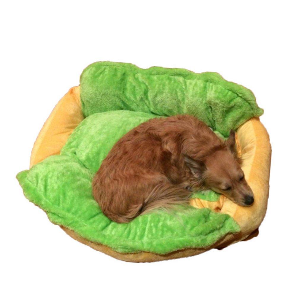 LAAT Cama para Perros Puppy Sofa Pets Pad Beds Decoración del hogar para Perros pequeños Gatos Use Hot Dog Printed (S): Amazon.es: Productos para mascotas