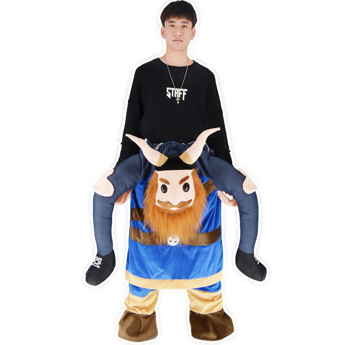 BAVARIAN BEER GUY CARRY ME MASCOT MASCOT ME FANCY DRESS COSTUME 37c5cd