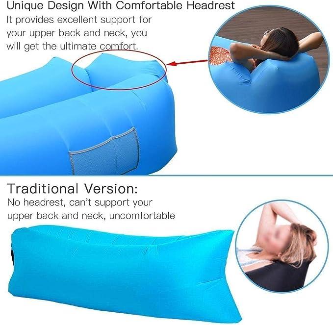 AngLink Cama de nylon plegable durable con bolsa de transporte ...