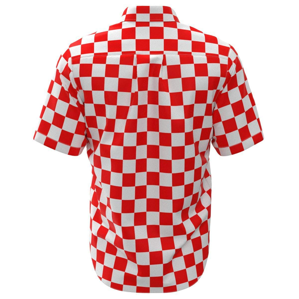 EightyThree XYZ Red /& White Checkered Box Mens Buttons Shirt XS-3XL