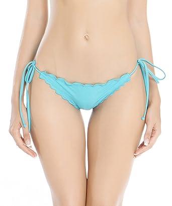 41549d5ed2 RELLECIGA Women Brazilian Bikini Bottom Ruffle: Amazon.co.uk: Clothing