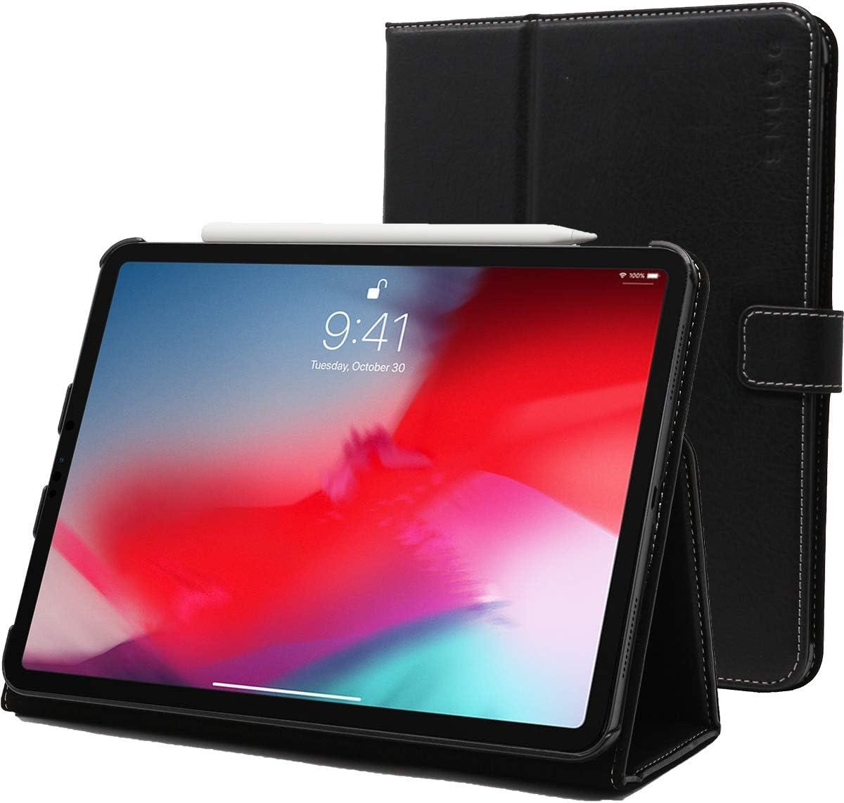 Snugg Funda de cuero cubierta protectora flip stand para apple ipad iPad Pro 11