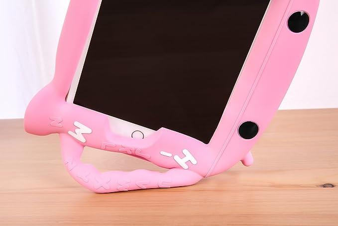 Funda iPad Pro 10.5 - CHINFAI Funda Protectora de Silicona Resistente para niños con Mango portátil [Self Stand] [BPA Free] para Apple iPad Pro 10.5 ...