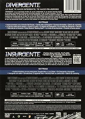 Pack Divergente + Insurgente [DVD]: Amazon.es: Shailene Woodley, Theo James, Robert Schwenke, Neil Burger, Shailene Woodley, Theo James: Cine y Series TV