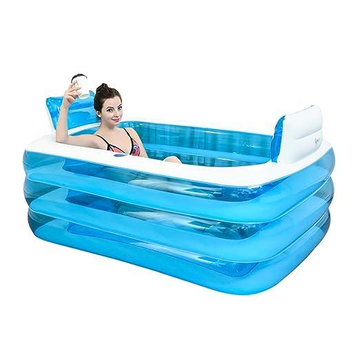 Zheng Hui - Bañera hinchable para el hogar (doble bañera ...