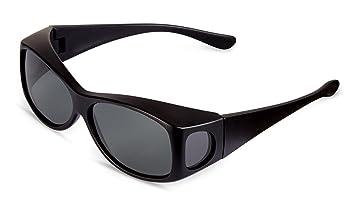 Fit-over Polbrille für Brillenträger Schwarz UpDXd