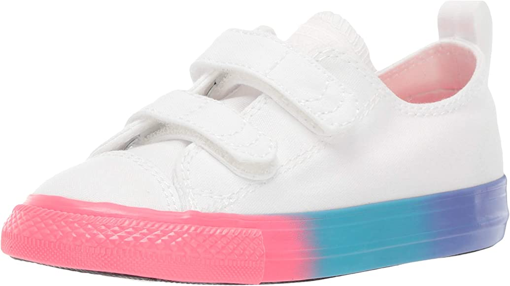 Kids Infant Chuck Taylor All Star 2v Rainbow Midsole Low Top Sneaker