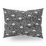 Society6 Dark Moon Surface Pillow Sham Standard (20'' x 26'') Set of 2