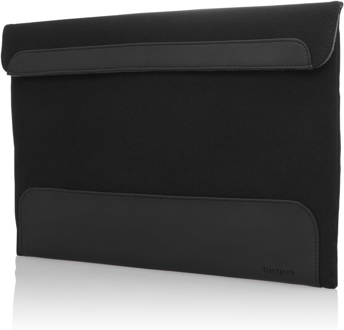 Targus Ultralife Thin Canvas Sleeve for 13.3-Inch Ultrabooks/Macbook Air, Onyx (TTS001US)