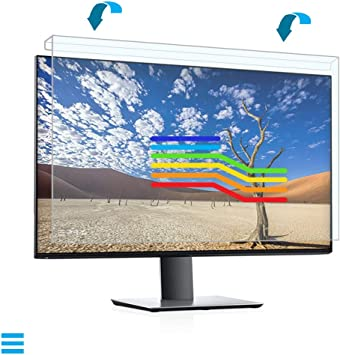 EPHY Anti Blue Light Screen Protector Filter Easy On//Off Removable Blue Blocking Computer Monitor Screen Protector for Eyes 17 to 19 Inches 5:4 Ratio