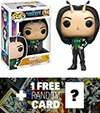 Mantis: Funko POP! Marvel x Guardians of the Galaxy 2 Vinyl Figure + 1 FREE Official Marvel Trading Card Bundle (12778)