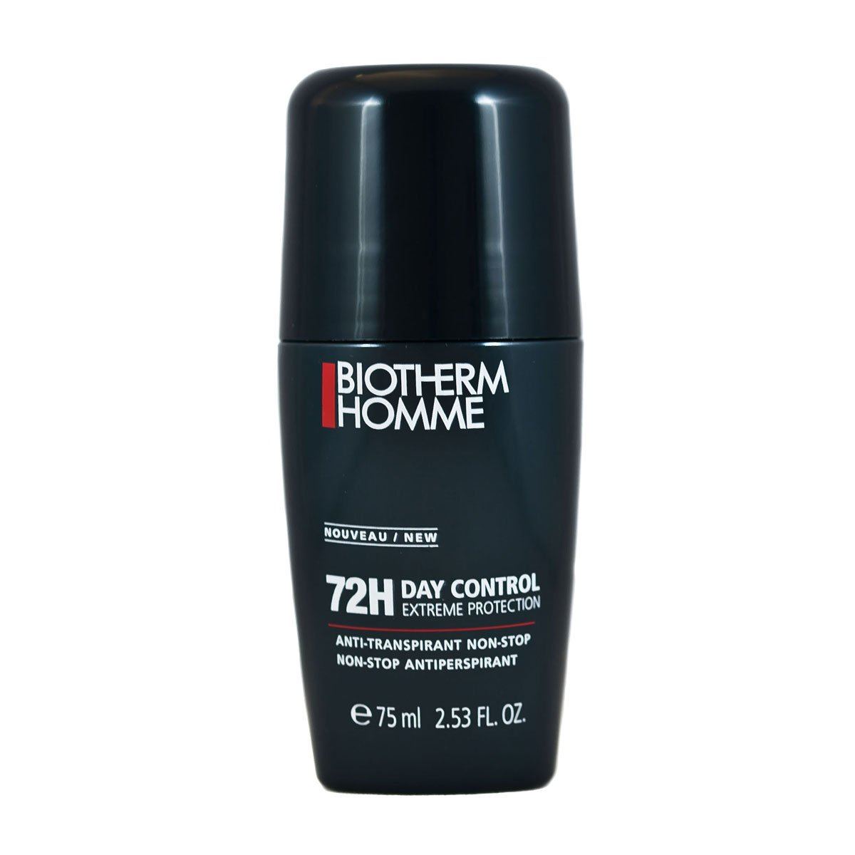 Biotherm Homme Day Control Deodorant Anti-Perspirant Roll-On 72 Hour Extreme Performance for Men, 2.53 Ounce 3605540783023 L3334300_-75
