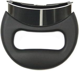 Silit Spare Part Side Handle Pressure Cooker Sicomatic T-Plus/T/E Ø 22 cm Plastic Black