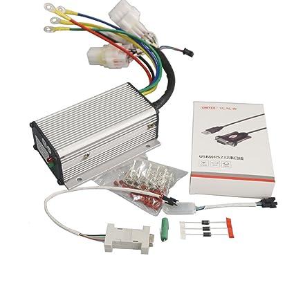 Amazon com: QSMOTOR Electric Motor Controller QSKLS7212S 24V