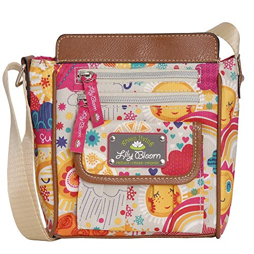 Lily Bloom Jamie Crossbody Bag (SPRING SHOWERS)