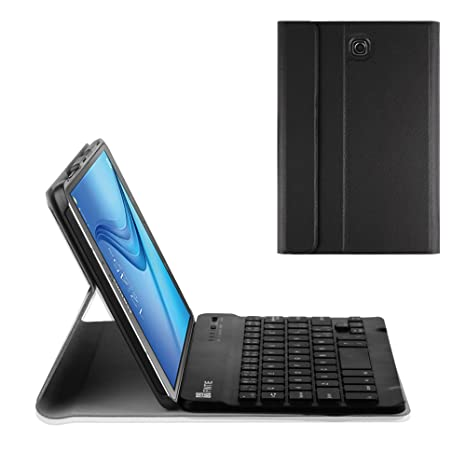 dc8ad191de1 Fintie Keyboard Case for Samsung Galaxy Tab S2 8.0 - Ultra Lightweight  Protective Slim Shell Stand