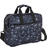 J World New York Executive Laptop Bag (Love Black)