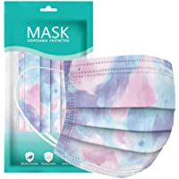 Disposable Face Masks, Disposable Safety Personal Facial 3Ply Ear Loop 10PCBreathable Facemasks