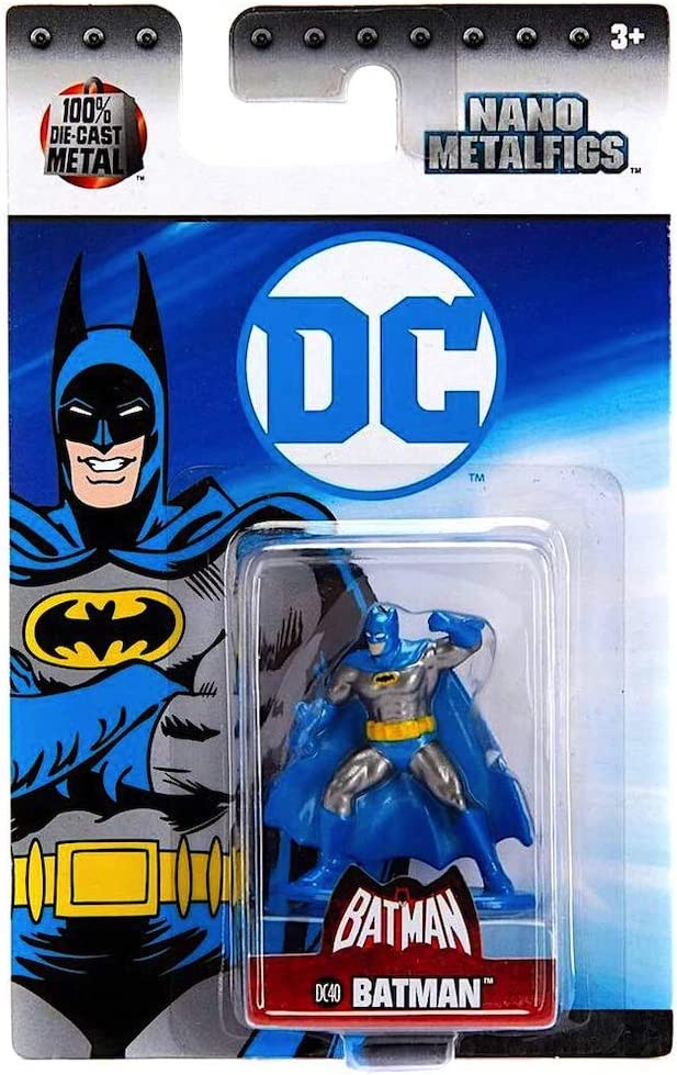 Nano Metalfigs DC Comics Batman DC40