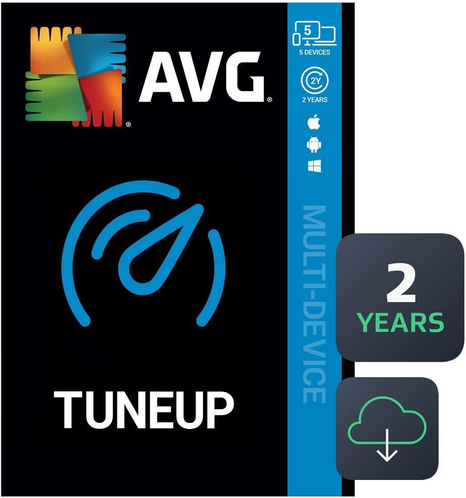AVG TuneUp 2020 | 5 Devices, 2 Years [PC/Mac/Mobile Download]
